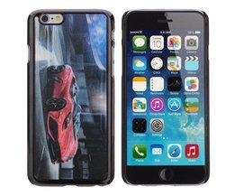 Hoesje Voor iPhone 6 Met 3D Sportwagen
