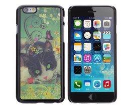 Case voor iPhone 6 met 3D Kat Design