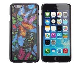3D Hoesje Met Vlinders Voor iPhone 6