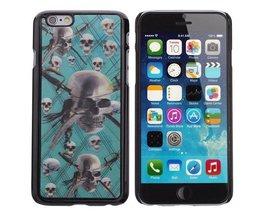 Hard Case voor iPhone 6 met Piratenschedel Design