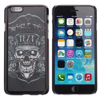 Griezelig Hoesje Voor iPhone 6 Met Doodshoofd