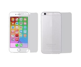Front & Back Screenprotector Voor iPhone 6 Plus