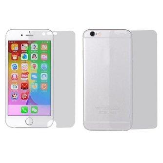 Front & Back Screenprotector Voor iPhone 6 Plus