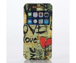 Hardcase Voor iPhone 6 Plus Met Love Patroon