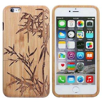 Houten Hoes Met Bamboostruik Voor iPhone 6 Plus