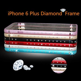 Bumper Met Diamantjes Voor iPhone 6 Plus