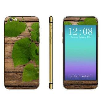 3D Sticker Voor iPhone 6 Plus Met Bladeren