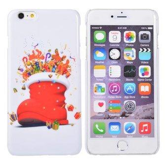 Back Cover Voor iPhone 6 Plus Met Kerstprint