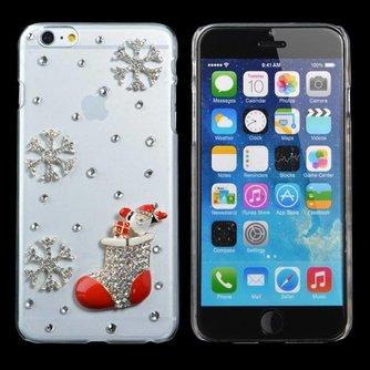 Hoes Met Kerstsok Voor iPhone 6 Plus
