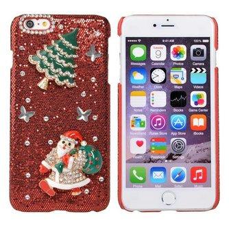 Hardcase Voor iPhone 6 Plus Met Kerstman
