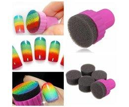 Nagellak Spons voor mooie Nail Art effecten