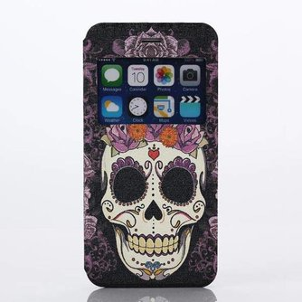 Hoesje Met Doodshoofd Voor iPhone 6 Plus