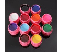 Gellak Set van 12 Kleuren
