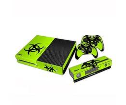 Groene Biohazard Skin Voor Xbox One