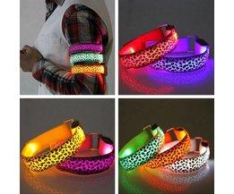 LED Armband met Luipaardprint