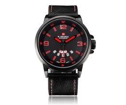 Plat Horloge Voor Mannen