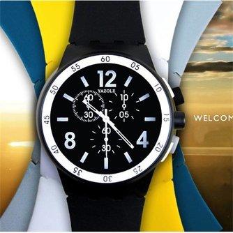 Hip Horloge in Vier Kleuren