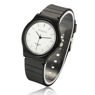 Plastic WOMAGE Horloge Unisex
