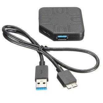 Mini USB Hub met 4 Poorten