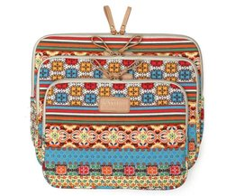 Laptop Tas met Bohemian Design