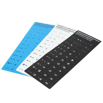 Keyboard Sticker Engels