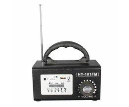 Draagbare Radio's HY-101FM