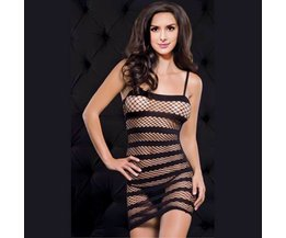 Open Zwarte Bodystocking