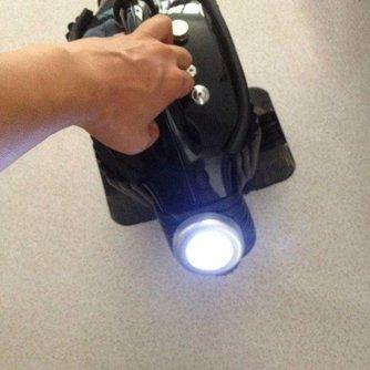 Ronde LED Spotjes Met Kleefband
