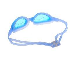 Blauwe Zwembril Met Oordopjes