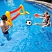 Opblaasbaar Voetbaldoel Voor In het Zwembad