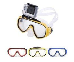 Duikbril Met Go Pro Camera Houder