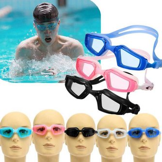 Blauwe Zwembrillen