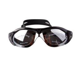 Zwarte Zwembrillen van het Merk REIZ