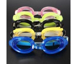 Zwembril In de Kleur Roze Blauw En Meer