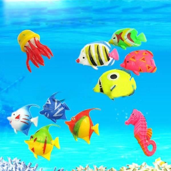 plastic tropische vissen aquarium kopen i myxlshop