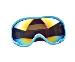 Blauwe Skibril Voor Mannen en Vrouwen