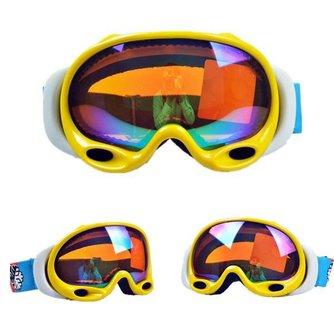 Gele Snowboardbril