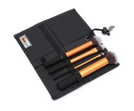 Set Make-Up Brushes 4 Stuks