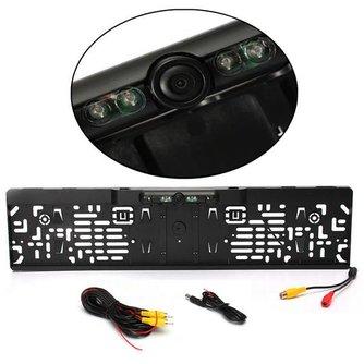 Kentekenplaathouder met HD Camera met Nachtzicht