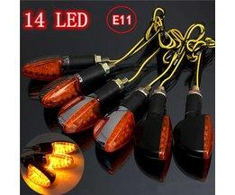 Richtingaanwijzers Voor Motor Verlichting