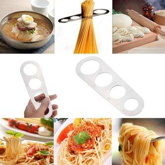Spaghettimeter van Gepolijst Roestvrij Staal