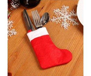 Kerst Tafel Decoratie : Kersttafel decoratie bestekversiering 1stuks kopen? i myxlshop tip