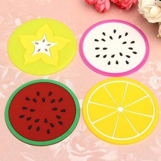 Fruitvormige Onderzetters voor Glazen