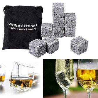Graniet IJsblokjes voor Drank 9 Stuks