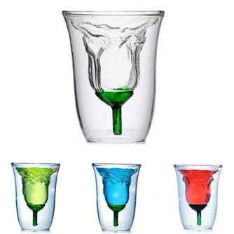 Glas Dubbelwandig