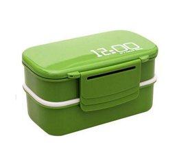 Lunchbox Met Vakjes