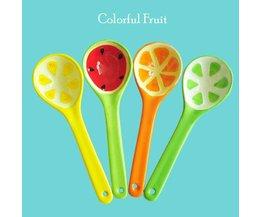 Lepel met Fruit Print