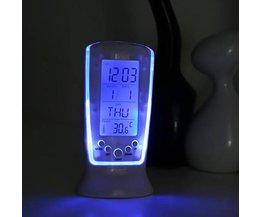 LCD Wekker