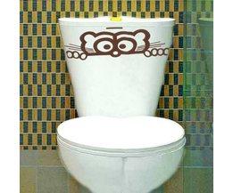 Sticker WC Bril