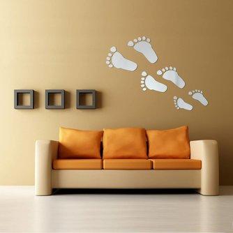 Wand Stickers Voetstappen